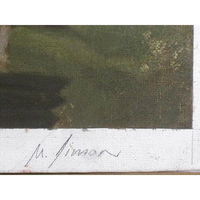 "Ute Simon ""Cassowary"" Jungle Bird Painting - Image 6 of 6"