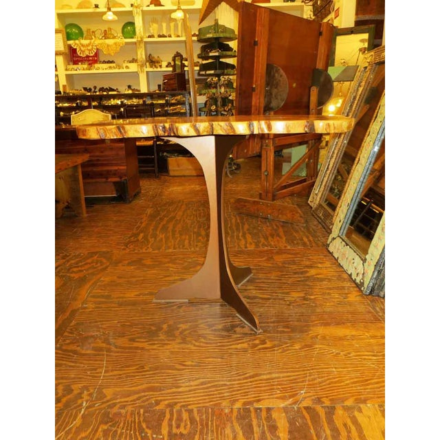 Customizable Book Matched Banyan Table - Image 4 of 6