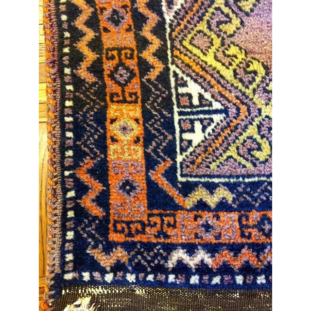 Semi Antique Turkish Anatolian Rug - 1′10″ × 3′4″ - Image 4 of 6