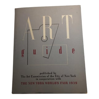 1939 Art Guide New York Worlds Fair Book For Sale