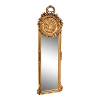 French Louis XVI Style Mirror For Sale