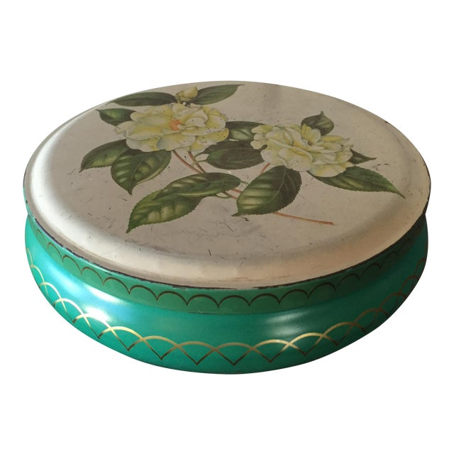 English Candy Gardenias Tin - Image 1 of 9