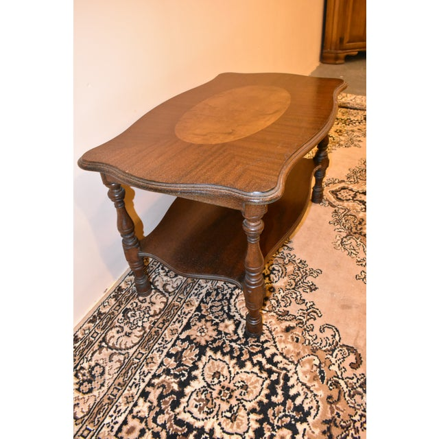 Imperial Antique Mahogany Accent Table For Sale - Image 4 of 8