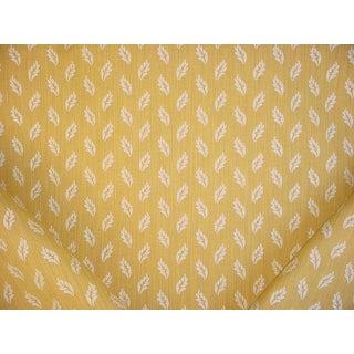 Traditional Brunschwig Et Fils Arden Figured Woven Sunflower Brocade Upholstery Fabric - 7y For Sale