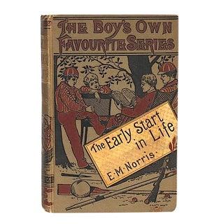 Late 19th Century Antique Book Decor - Australian Adventure Story For Sale