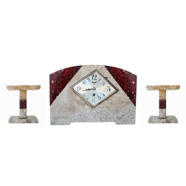 This item is on sale in celebration of Harveys on Beverly's 50th Anniversary! This is an Italian Art Deco style marble...