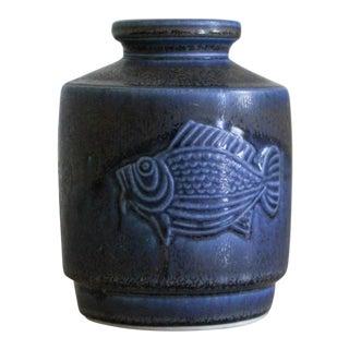 Wilhelm Kåge for Gustavsberg Studio Pottery Vase For Sale