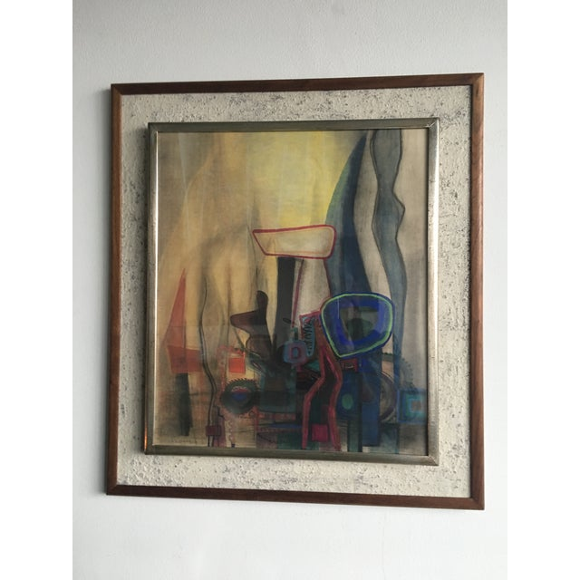 Modern Interiors Abstract Painting - Image 2 of 10