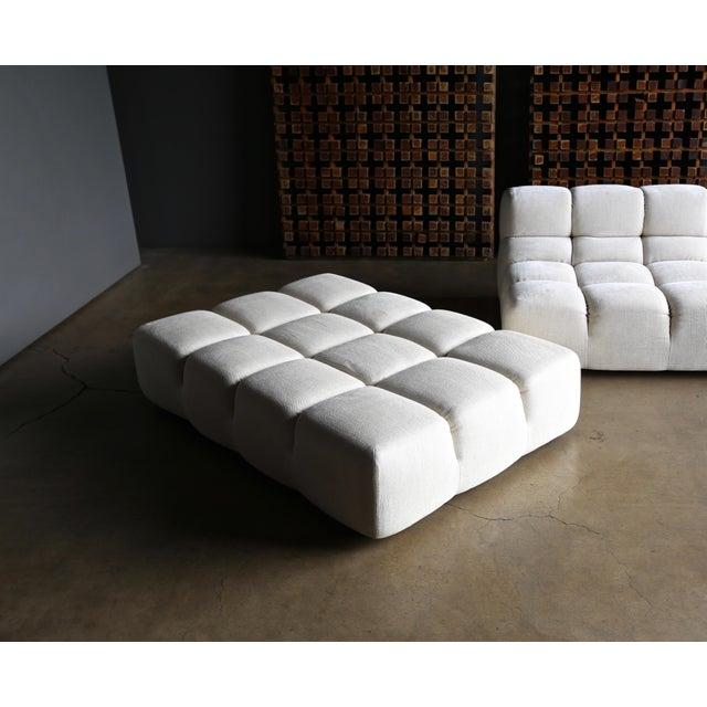 "White Patricia Urquiola "" Tufty-Time "" Sofa for B&b Italia Circa 2005 For Sale - Image 8 of 12"