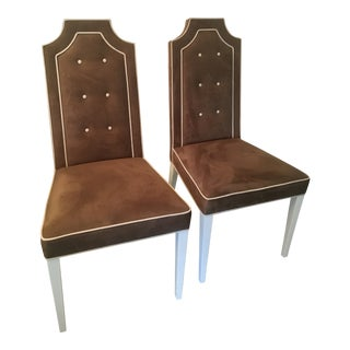 "Artistic Frame Company ""The Jean"" Chairs - A Pair For Sale"