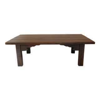 20th Century Japanese Low Coffee Table For Sale