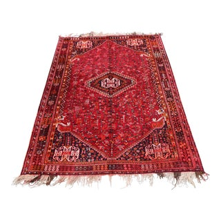 Elegant Tribal Hand Knotted Rug For Sale