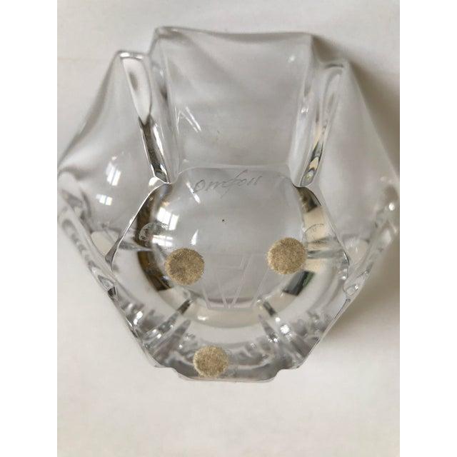 Orrefors Orrefors Crystal Bowl For Sale - Image 4 of 5