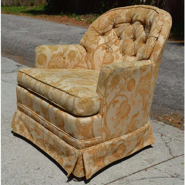 Woodmark Originals Tree of Life Barrel Back Chair - Image 4 of 9