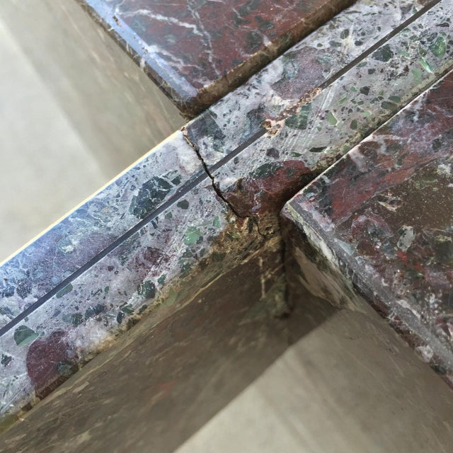 Italian Marble Dining Table Base - Image 8 of 11
