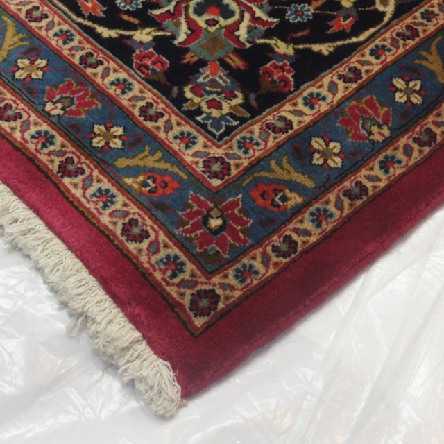 "Leon Banilivi Persian Mashad Carpet - 9'10"" X 13'2"" - Image 6 of 6"