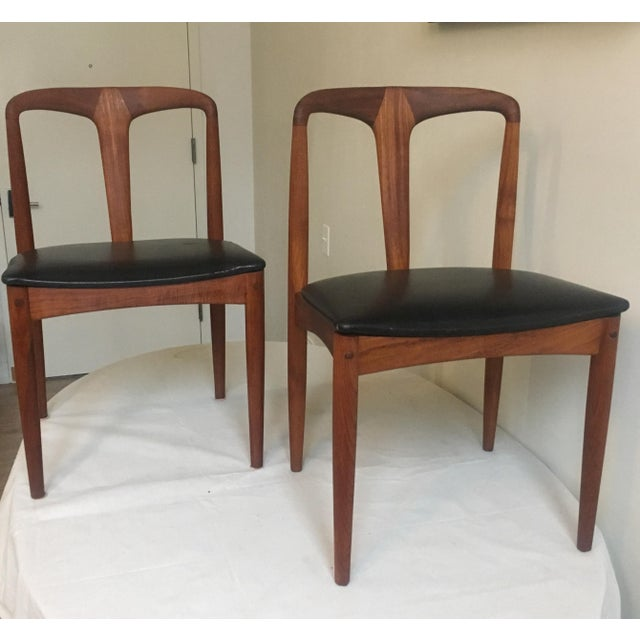 Teak Juliane Dining Chairs by Johannes Andersen - A Set of Two - Image 9 of 10
