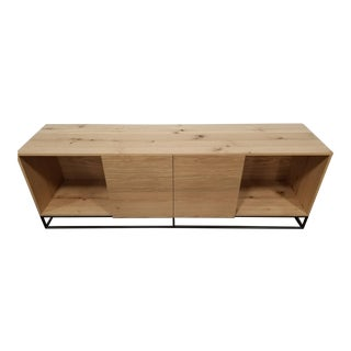 "Industrial West Elm 80"" Credenza For Sale"