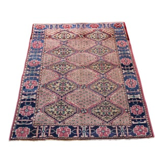 Vintage Turkish Oushak Rug - 3′1″ × 6′5″