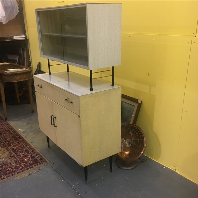 Mid Century Two Piece Cabinet - Image 3 of 9