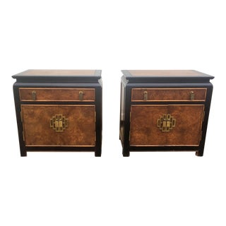 1970s Mid-Century Modern Century Chin Hua Collection Nightstands - a Pair For Sale