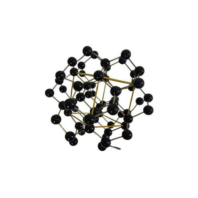 1950s Molecular Structure of Black Diamond From France - Image 4 of 5