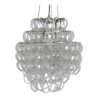Giogali Style Blown Glass Chandelier For Sale