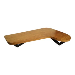 Mid-Century Pearsall Style Kidney Coffee Table For Sale