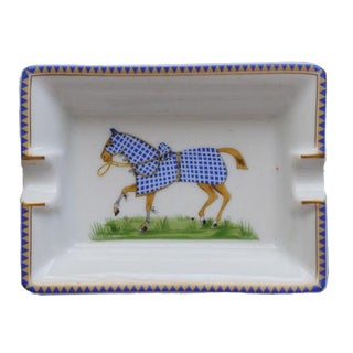Hermès Collectors Edition Rare Horse Stallion Ash Tray