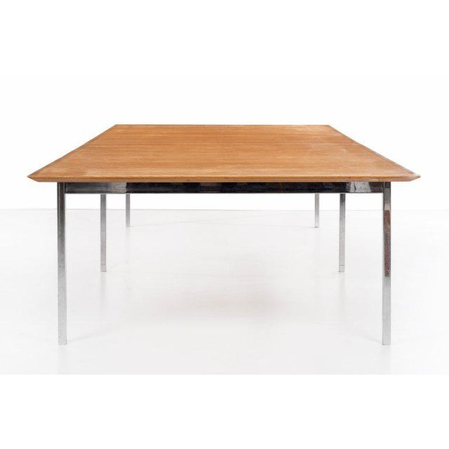 1960s Florence Knoll Custom Table For Sale - Image 5 of 10
