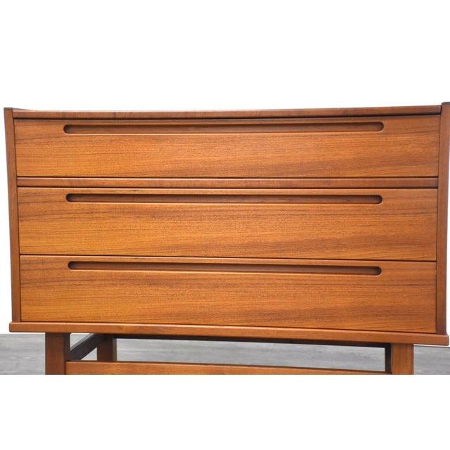 Nils Jonsson Teak Vanity Dresser For Sale - Image 10 of 11