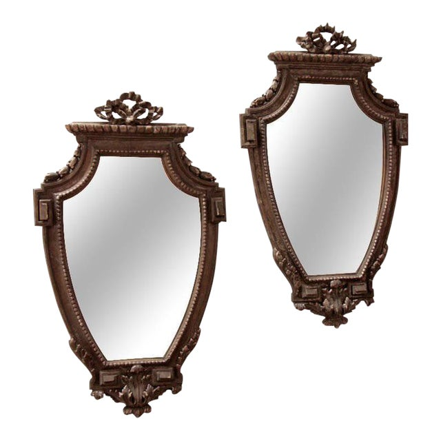 Pair of Italian 19th Century Mirrors For Sale