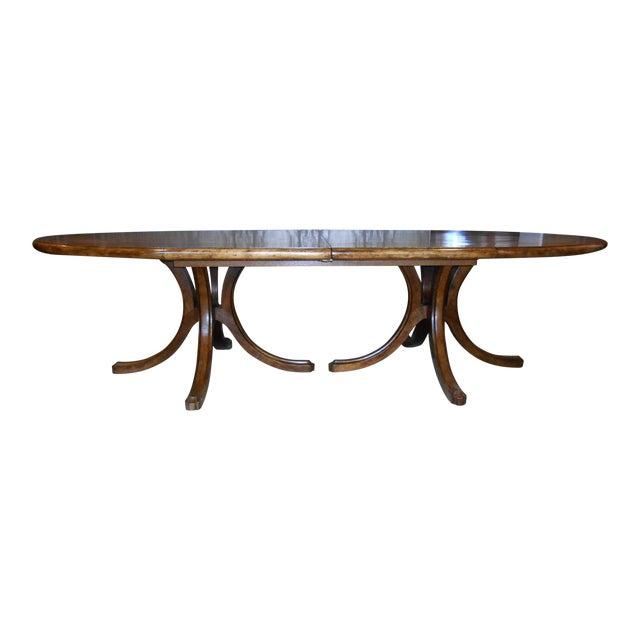 Batavia Pedestal Base Dining Table For Sale