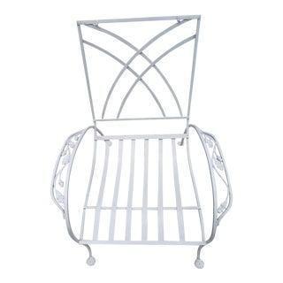 1940s Vintage Salterini Wrought Iron Club Chair