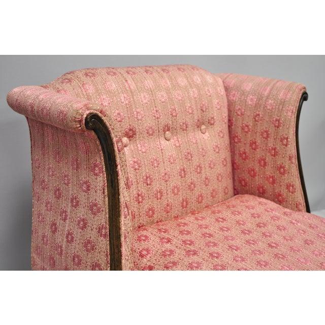 Louis XV 20th Century Louis XV Knapp & Tubbs Kenilworth Boudoir Accent Chair For Sale - Image 3 of 13