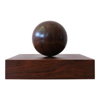 Sven Petersen KInetic Rosewood Sculpture, 1950s For Sale