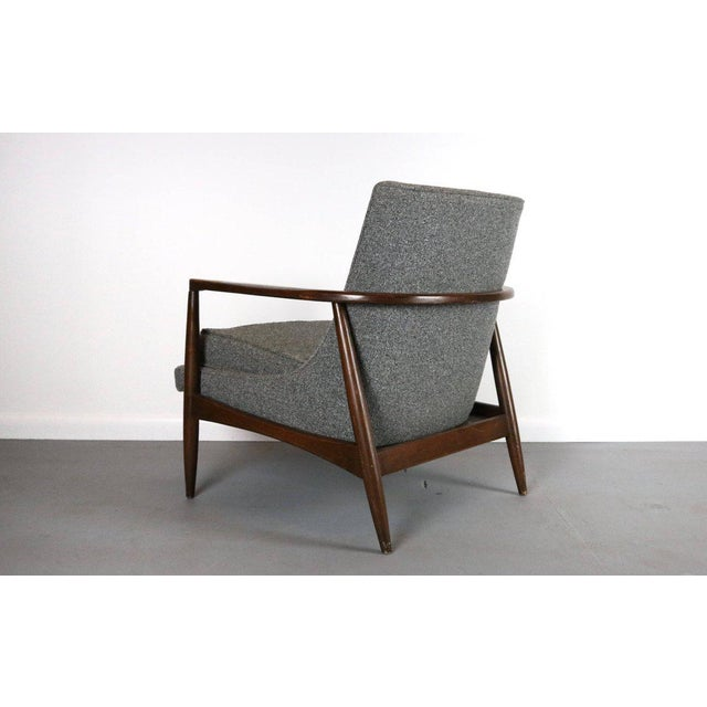 About this Stunning Mid Century Lounge Chair in the Style of Larsen This is one of our favorites. Look at these lines!...