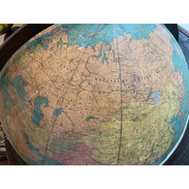 Early 1900's Williams-Pridham Index Globe For Sale - Image 12 of 12