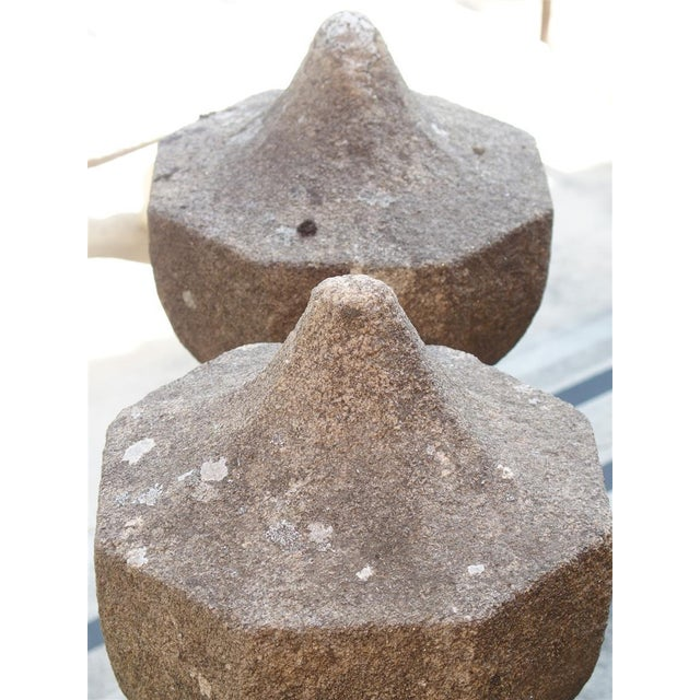 17th Century 17th Century French Granite Garden Posts For Sale - Image 5 of 13