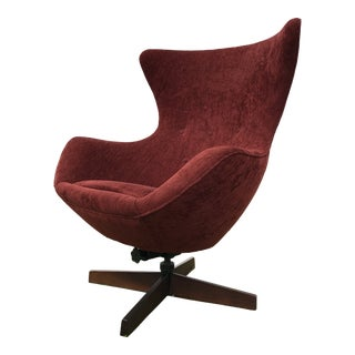 Adrian Pearsall Swivel Egg Lounge Chair Craft Associates For Sale