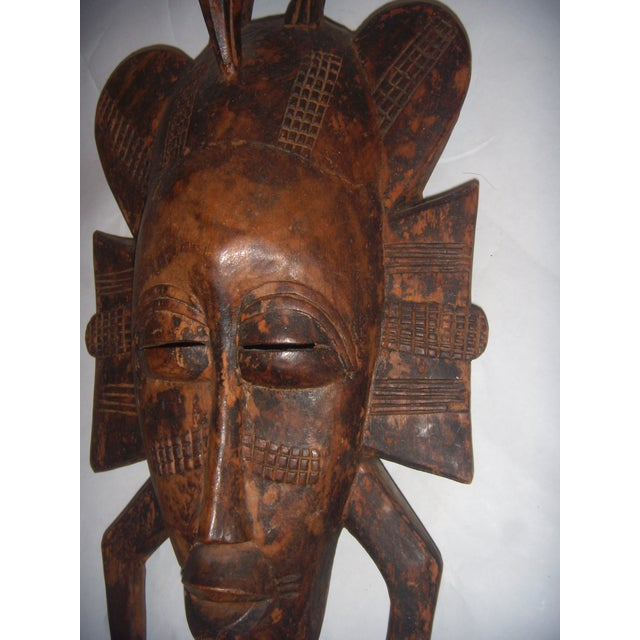 Carved African Tribal Mask For Sale - Image 4 of 11