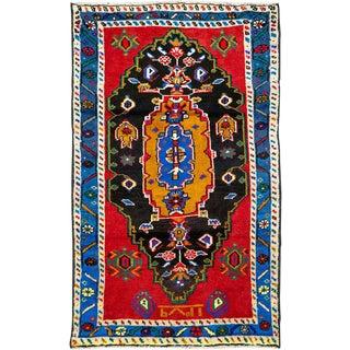 "Vintage Persian Hamadan Rug – Size: 2' 7"" X 4' 2"" For Sale"