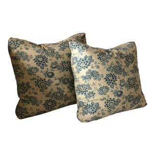 Jasper Michael Smith Accent Pillows - A Pair For Sale