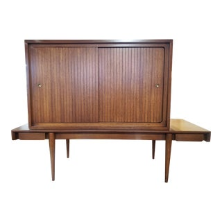 Mid Century Modern Red Lion Woodcraft Modular Unit For Sale