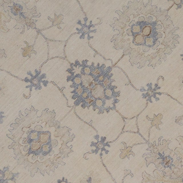 Modern Oushak Style Rug - 9′9″ × 13′7″ For Sale - Image 4 of 5