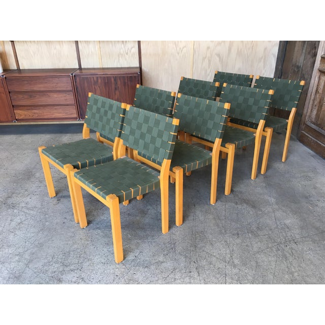Alvar Aalto Dining Chairs - Set of 8 For Sale - Image 12 of 12
