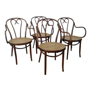 1960s Vintage Zpm Radomsko Chairs- Set of 4 For Sale