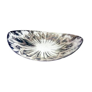1940s Minimalism Dorothy Thorpe Ovoid Shaped Glass Bowl For Sale