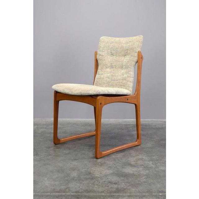458447ce9f482 Vamdrup Stolefabrik Vamdrup Stolefabrik Danish Teak Dining Chairs - Set of  6 For Sale - Image