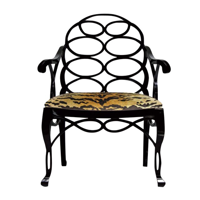 "Truex American Furniture ""Loop Chair"" For Sale"